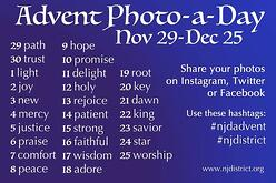 Advent Photo-a-Day Challenge from the LCMS New Jersey District