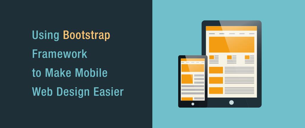 web design using bootstrap
