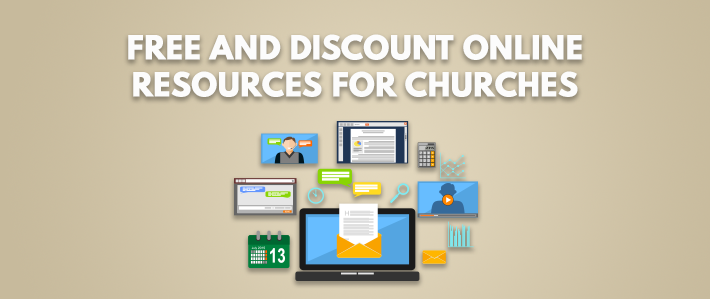Free and Discount Online Resources for Churches