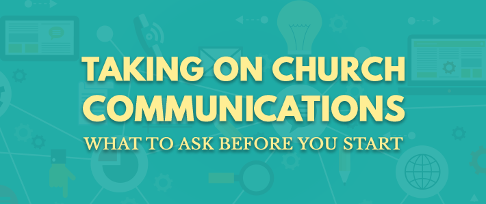 Taking On Church  Communications