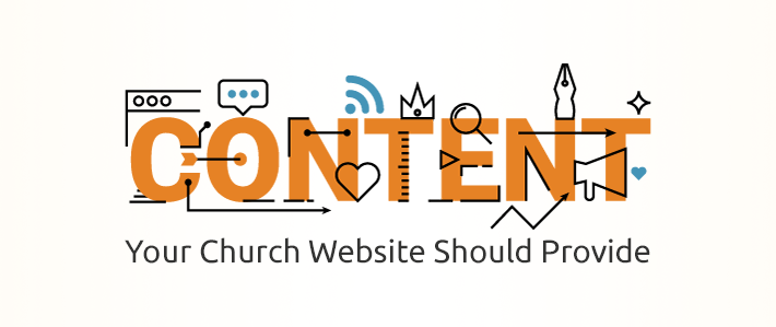 Content Your Church Website Should Provide