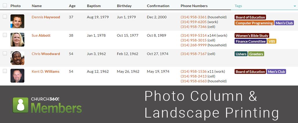 Photo Column &; Landscape Printing