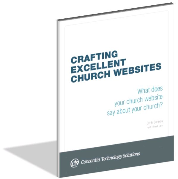 Crafting Excellent Church Websites