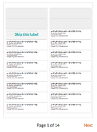 July Updates Skip Mailing Labels Church360 Members