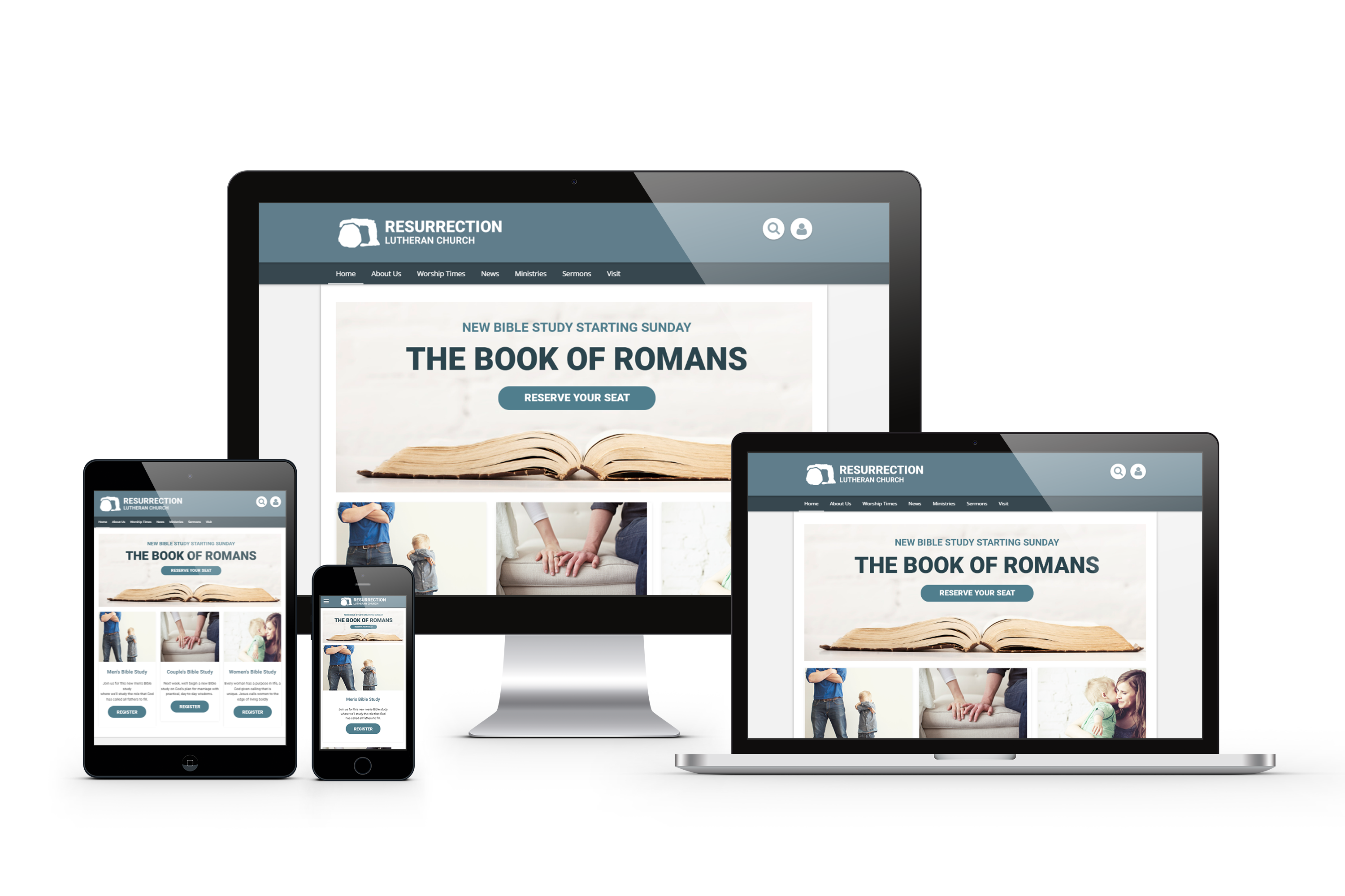 Professionally Designed, Mobile-Ready Themes | Church360 Unite