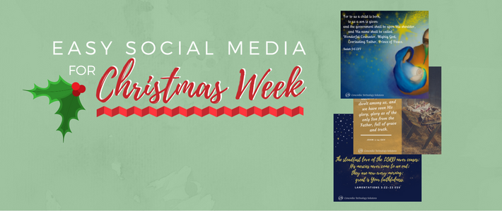 Easy Social Media for Christmas Week.png