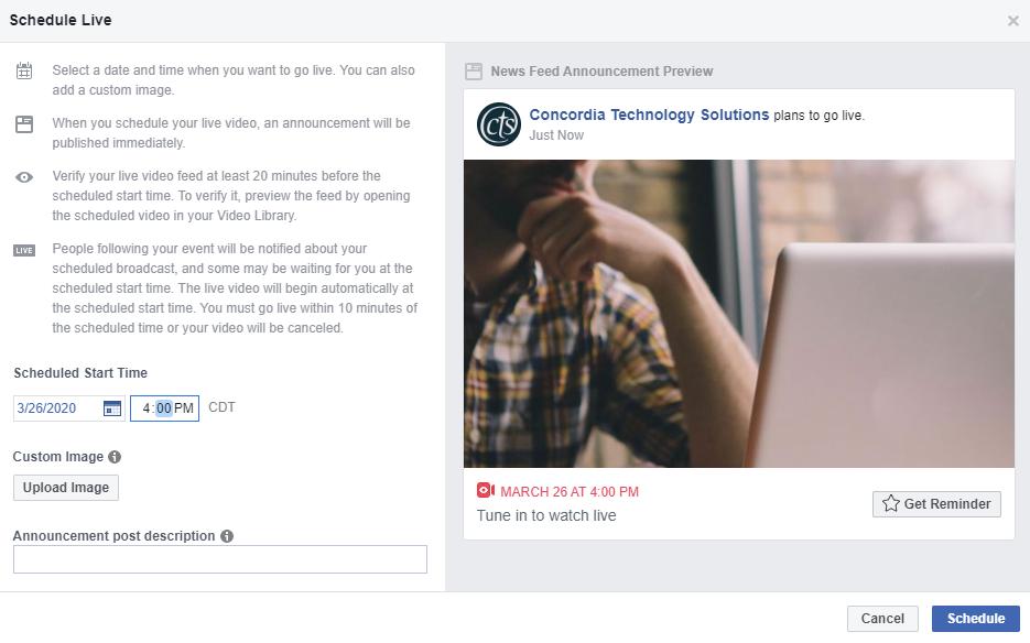 schedule-facebook-live