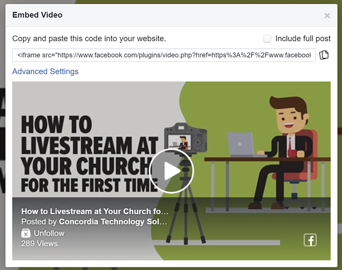 embed-facebook-video