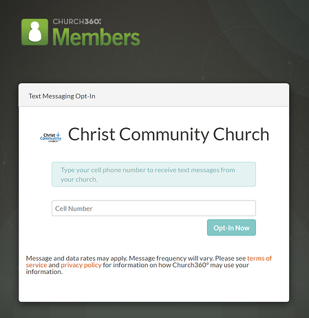 members-opt-in-page
