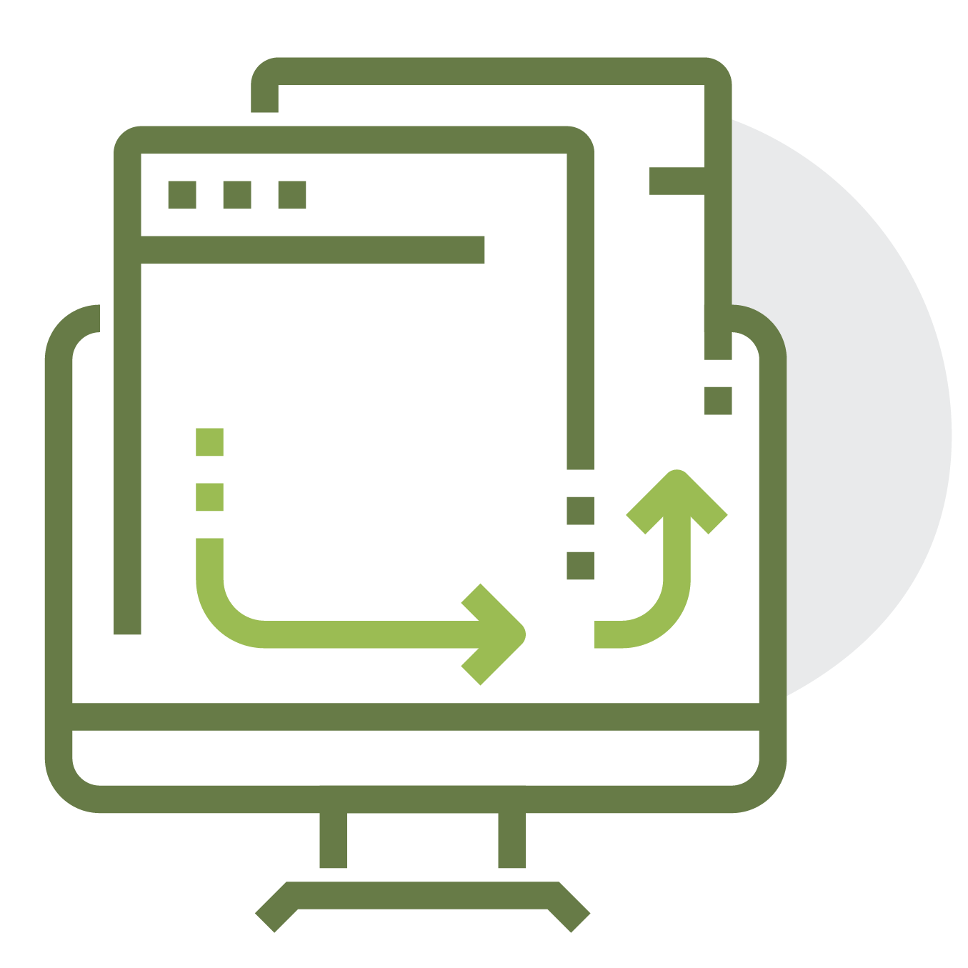 Icon for import your data
