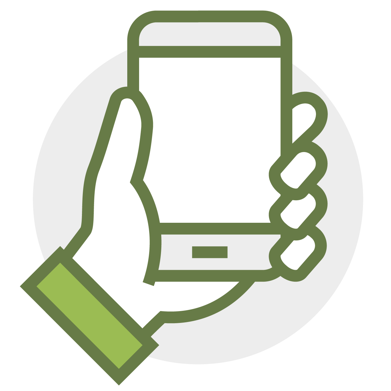 Icon for mobile accessible