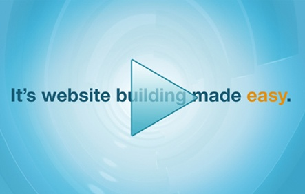 It's website building made easy.